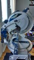 Master craft 10-in compound mitre saw with stand