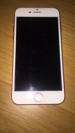 iPhone 7 Red 128gb unlocked with Apple warranty
