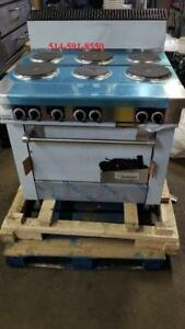***NEUF**BRAND NEW**   Garland cuisiniere 6 ronds Poele / Range / Stove / Oven Electric / Burner