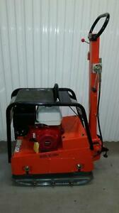 REVERSIBLE PLATE TAMPER COMPACTOR HONDA GX390 + 90 CM COMPACTION + FREE EXTENSION PLATES + 1 YR WARRANTY + FREE SHIPPING