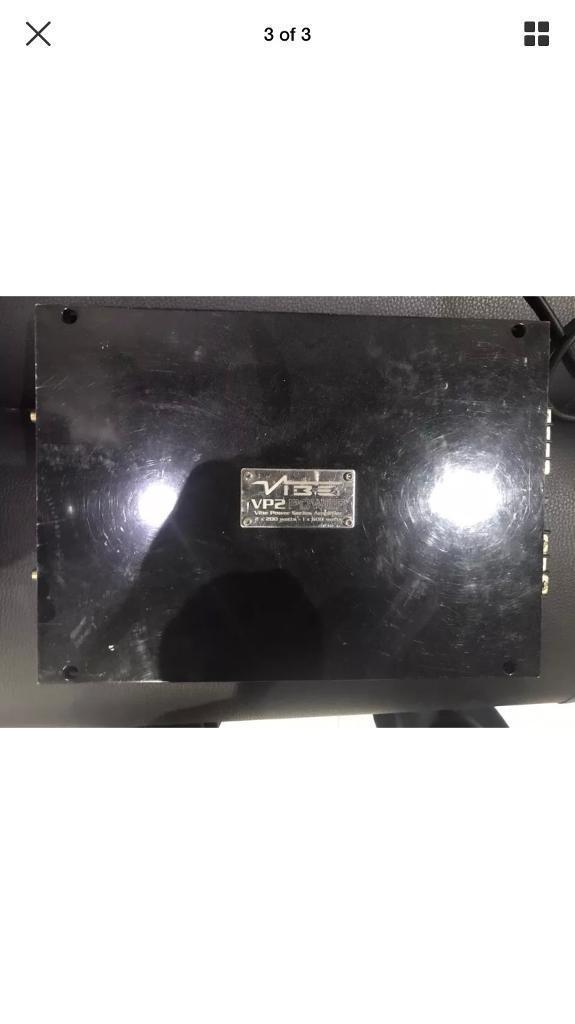Vibe VP2 Amplifier - 2 x 600 watts