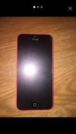 iphone 5c pink/Not working