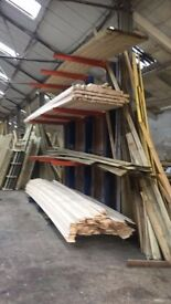 steel racking for timber or steel