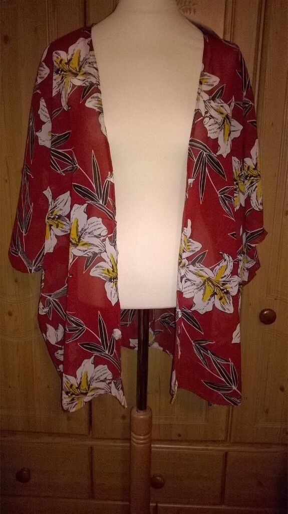 kimono style top new with labels £5 each originally £8 extra large