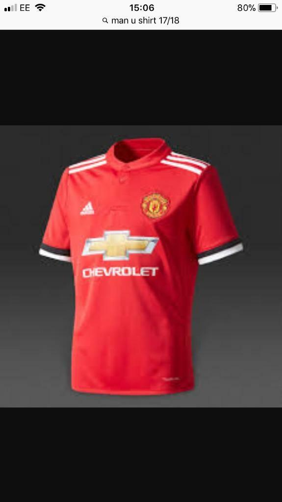 Manchester United shirts 17/18