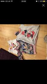 three minnie mouse tops 12-18 months