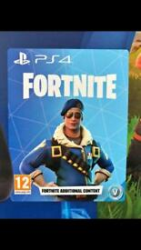 Fortnite ROYALE BOMBER PS4 limited edition skin, VERY RARE