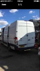 Breaking Mercedes sprinter 2012 euro 5 lwb