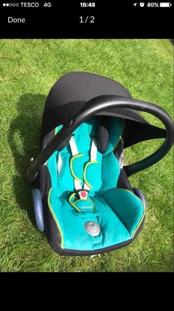 Maxi cosy car seat from birth