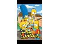 All 29 seasons of The Simpsons - contact for info