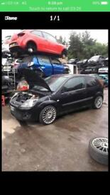 Breaking Ford Fiesta 1.4 zetec s 2007