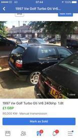 Vw golf vr6 1.8t turbo mk3 auq