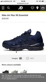 Nike 95's Size 10