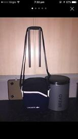 Black/Navy/White Lacoste Bag