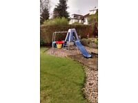 Chute and climbing frame from TP toys