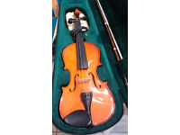 3/4 size Stentor Vioiin Outfit with case and bow. Good condition