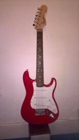 Fender Squire junior electric guitar...great little three pick up guitar
