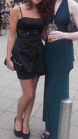 Black Karen Millen dress size 10