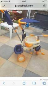 Kids 4 in one trike