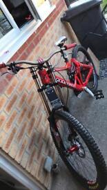 Mondraker downhill bike