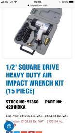 Draper Pro impact torque wrench
