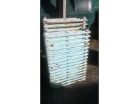3 very heavy cast iron radiators