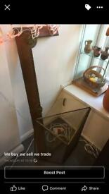 Brass fire hearth and protector £75ono
