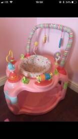 Baby activity saucer