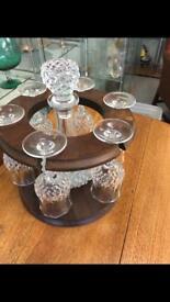 Decanter and glasses set £45ono