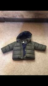 H&M boys 4-6mth coat