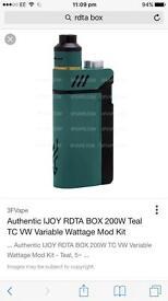 Rdta box and 2 av mecs for sale