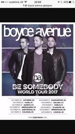 Boyce Avenue Tickets - 6th November