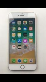 GOLD IPHONE 6S PLUS 32GB ON O2 GIFF GAFF AND TESCO