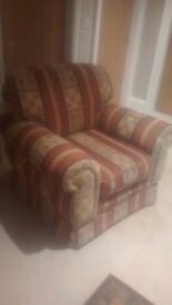 Chair sofa suite