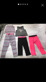 Girls active wear Age 14 years