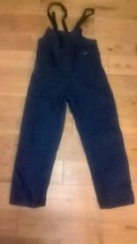 Tyke Waterproof Sailing Trousers size Medium