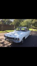 1973 Rover 2000TC White continental kit