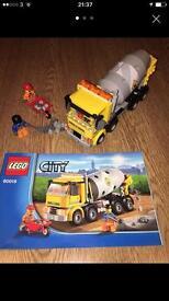 Lego cement mixer 60018