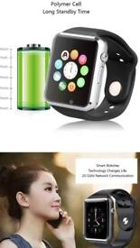 smart watch Android compatible SIM card slot etc BRAND NEW Black