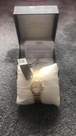 Ladies Gold Plated Rolex Watch (BNWT)