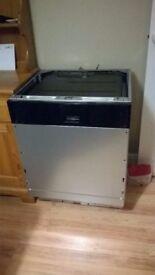 zanussi dishwasher
