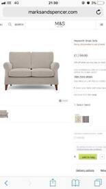 Marks and Spencer's 2 Seater Medium Sofa