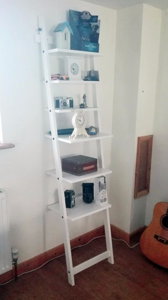 Ikea Hjalmaren Wall Shelf Ladder White In Norwich