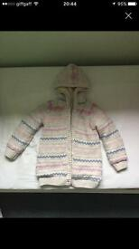 Girls knitted jacket age 5-6