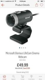 ** Microsoft HD Widescreen Webcam **