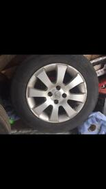 Vauxhall Astra 4 Stud alloy wheels