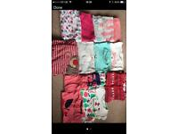 18-24 months girls nightwear bundle including Christmas items