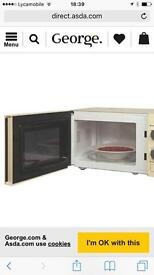 Microwave prp 60 pounds works perfect just used for 2 weeks clean and neat