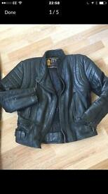 Ladies Bike Leather Jacket & Trousers