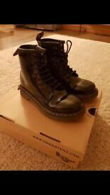 Dr Marten Patent Boots Size 12